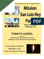 Bulletin for MSLRP 12-02-2012