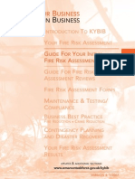 Fire Risk Assessment Guidelines