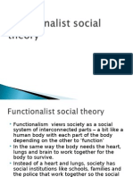 Function a List Social Theory