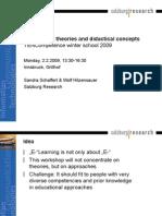 Agenda of the MonsterAcademy Workshop
