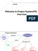 45892787 Presentation PS Overview of SAP PS 1Module