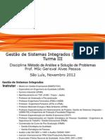 Notas de aula da disciplina Metodologia de Solução de Problemas