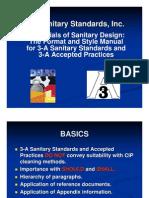 3a Sanitary Standards
