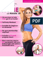 Natalie Jill - Home Workout Book