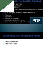 CLASSIFICAÇÃO DE MARCADORES TUMORAIS