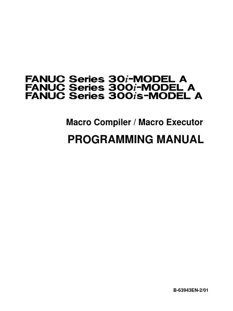 fanuc macro compiler macro executor subroutine parameter rh es scribd com Fanuc Programming Software Fanuc Karel Programming