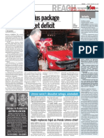 TheSun 2009-01-30 Page02 Second Stimulus Package Will Raise Budget Deficit