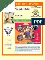 School Newsletter (V. 3)