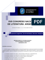 Primera Circular XVII Congreso Nacional de Lit. Argentina (1) (1)