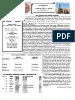 St. Michael's November 25, 2012 Bulletin