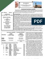 St. Michael's December 2, 2012 Bulletin