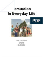 302137 Persuasion in Everyday Life