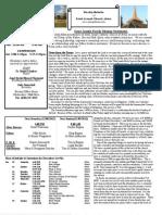 St. Joseph's December 2, 2012 Bulletin
