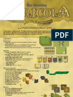 Agricola Board Game Rules. Of the Moors.