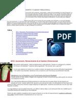 2012 Ascencion Renacimiento y Cambio Vibracional