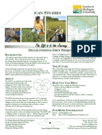 Decolonizing Diet Project Flyer