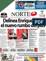 Periodico Norte de Ciudad Juárez 2 de Diciembre de 2012