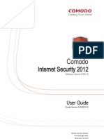 Comodo Internet Security 2012 Ver5.9-5.10 User Guide 031512
