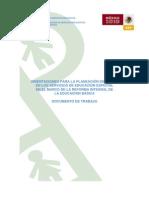 ORIENTACIONES PARA LA PLANEACIÓN DIDÁCTICA EN LOS SERVICIOS DE EDUCACIÓN ESPECIAL EN EL MARCO DE LA RIEB