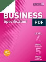 Business Spec