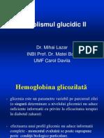 Metabolismul Glucidic II