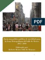 Hacia Una Politica de Movilidad RRTM