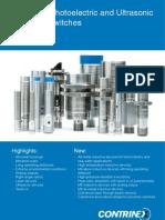 CONTRINEX Sensor Catalog