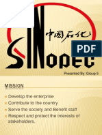 Sinopec case study analysis