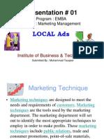 Marketing (Local Ads)