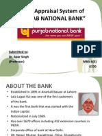 Credit Appraisal System of PUNJAB NATIONAL BANK