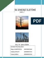 Enerji İletimi Ödev-1 Çözümleri