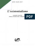 Colette, Jacques - L'Existentialisme [1994]