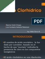 ACIDO CLORHIDRICO 2012