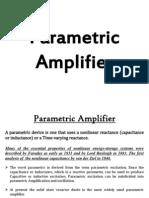 Parametric Amplifier