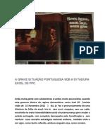 """2012-12-01 - Andrade da Silva - """"A GRAVE SITUAÇÃO PORTUGUESA SOB A DITADURA EXCEL DE PPC"""""""
