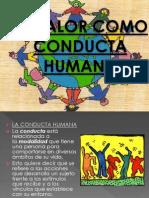 El Valor Como Conducta Humana