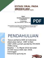 Manifestasi Oral HIV