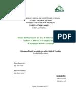 Sistema De Organización  Del Área De Afilado De La Empresa Andino C.A-MASISA.S.A