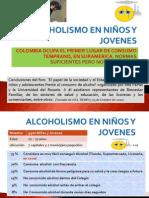 ALCOHOLISMO EN NIÑOS Y JOVENES