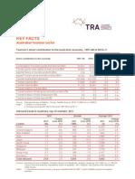 Tourism Data Card April 2012