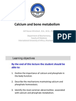 Calcium Metabolism 2012, New Version