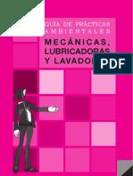 GUÍA DE PRÁCTICAS AMBIENTALES - MECÁNICAS LUBRICADORAS Y LAVADORAS