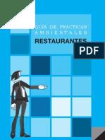 GUÍA DE PRÁCTICAS AMBIENTALES - RESTAURANTES