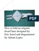 Origami Dwarf Base (Eric Joisel) Diagram
