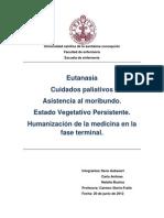 Cuidados Paliativos, Eutanasia, Estado NP