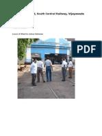 VijayawadaDiesel Loco Shed