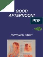 Peritoneal Cavity Powerpoint