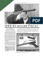 OSS Silenced Pistol