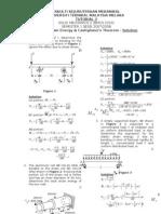 TUTORIAL 3 - Stress-Strain Energy n Castigliano Theorem-2-Solution