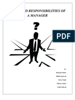 What Are the Responsibilities of a Professional Manager